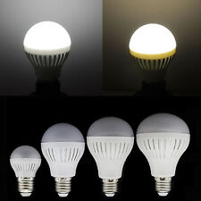 NEW E27 Globe LED Bulb 3W/5W/7W/9W/12W Lamp Light Cold/Warm White High Power