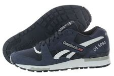 Reebok GL 6000 Nylon Suede Blue V45338 Heelclip Casual Shoes Medium (D, M) Mens