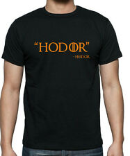 GAME Of THRONES HODOR Quote  T-Shirt in sizes up to 5X Large  FREE UK POST