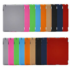 Hard PU Plastic Back Case Cover Ultra Slim Smart For Apple iPad 2 3 4 Air/5 Mini