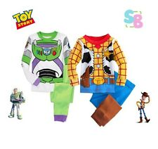 BABY TODDLER BOYS CLOTHES TOY STORY WOODY BUZZ COSTUME PYJAMAS CHRISTMAS OUTFITS