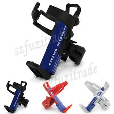 Mountain Bike Bicycle Cycling Water Drink Bottle Cage Holder Rack Tube Clamp New