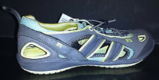 NEW Body Glove Dynamo Force Athletic/Hiking Shoes Baby Blue/Grey/Yellow SZ 8,9