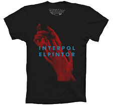 INTERPOL T-SHIRT INSPIRED EL PINTOR PAUL BANKS ALL THE RAGE COLORS SIZES UNISEX