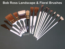Bob Ross Landscape & Floral Brushes -  Brand NEW - SAVE - LOW Shipping Rates