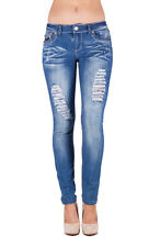 ELLA JEANS Junior Distressed Gem Detail Skinny Jeans EP-2EP087S