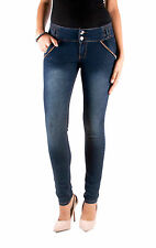 AT7 Jeans Juniors Curvy Skinny Sexy Jeans woman long pants bottom AT-93018S