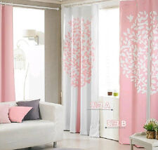 1pc Home And Garden Curtain Window Panel Set 56''x93'' Korean