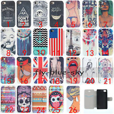 Fashion Magnetic Wallet Stand PU Leather Card Holder Flip Case Cover For Phones