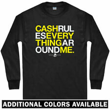 C.R.E.A.M Long Sleeve T-shirt - LS Cash Rules Everything Around Me Men / Youth