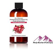 100% PURE ORGANIC POMEGRANATE SEED OIL COLD PRESSED 2 4 8 16 32 oz FAST SHIP!