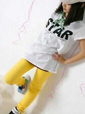 Sexy Candy Color Womens Stretch Pencil Pants Slim Skinny Jeans Trousers - Yellow