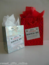 MUMS Christmas SURVIVAL KIT Novelty Gift Idea Unusual Unique Festive Fun Present