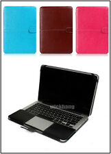 """PU Leather Laptop Case Cover Sleeve Shell Bag For Apple Macbook 15.4"""" Retina"""