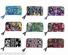 VERA BRADLEY Accordion Zip Wallet Multi Colors NWT