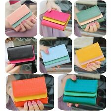 Stylish Hot Girl Lady Women's Leather Wallet Handbag Button Clutch Zip Purse Bag