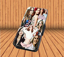 Lana Del Rey - Faux Leather Flip iPhone & Samsung Galaxy Cover Case PT23