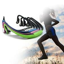 Wireless TF Card Music Player&FM Radio Headphone Earphone Sport MP3 for Jogging
