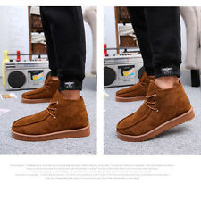 Mens Fashion shoes Winter Boots work Short Warm Fulff Leather online shopping