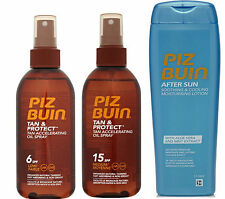 Any 2 Piz Buin TAN ACCELERATING OIL Sprays or COOLING AFTERSUN with Aloe Vera