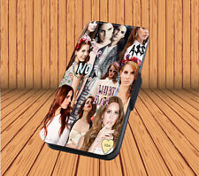 Lana Del Rey - Faux Leather Flip iPhone & Samsung Galaxy Cover Case PT19