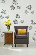 Flower Wall Decals, Flower Wall Decor, Floral Wall Decal, Cottage Decor, Cottage