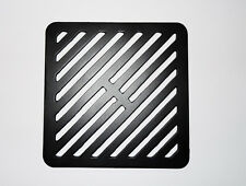"""8"""" Square Metal steel Gully Grid Heavy Duty Drain Cover like cast iron"""