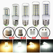 Bombilla E14 E27 G9 GU10 B22 SMD 5730 5630 LED 5W 7W 9W 12W Light Bulb w/Cover
