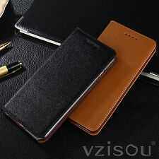"""Deluxe Genuine Leather Card Pocket Case Cover Stand For iPhone 6 Plus 5.5""""/4.7"""""""