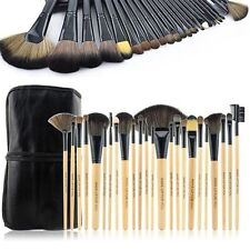 Pro 24 Pcs Makeup Beauty Brushes Set W/ Soft Bag Case Eye Shadow For Bobbi Brown