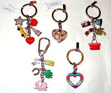 BRAND NEW COACH KEYCHAINS - GUARANTEED AUTHENTIC AND NEW