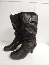 G by Guess Trinnie Slouchy Boot  Dark Brown   New with Box