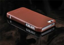Luxury Genuine Leather Case Slim Flip Genuine Leather Case Cover for iPhone 5 5S