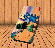 Lilo And Stitch For Faux Leather Flip iPhone & Samsung Galaxy Cover Case SY30