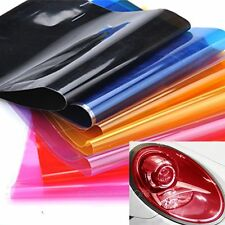 Auto Car Smoke Fog Light Headlight Taillight Sticker Tint Vinyl Film Sheet MHM01