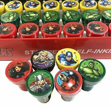 New Marvel Avengers Assemble Self-Inking Stamps Birthday Party Favors