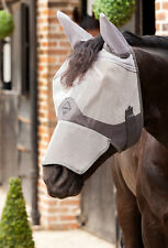 LeMieux COMFORT FLY SHIELD Field Turnout Fly Mask with EARS & NOSE - S/M/L/XL