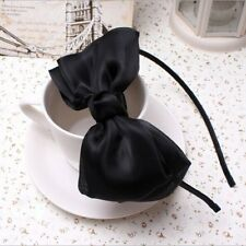 Hot Ribbon Bow Girls Lady Children Headwear Hairband Hoop Party Prom Accessories