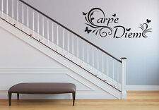 Carpe Diem Use The Day Wall Text Wall Tattoo Saying Wisdom Quote Selection