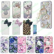 For iPhone 6/6 Plus Bling Luxury Diamond 3D Handmade Case Elegant Design Cover