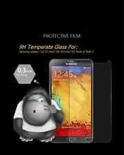 9H Tempered Glass Screen Protector for Samsung S3/ S3 mini/ S4/ S4 mini/ S5/ --