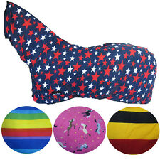 HORSE COOLER FLEECE RUG INSULATED SHEET ALL SIZES & COLOURS PONY COB FULL NECK