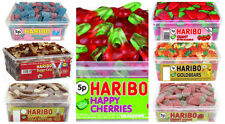 HARIBO SWEETS COLA BOTTLES GUMMY BEAR STRAWBERRY JELLY FIZZY SOURS  TUB CHEAP ,