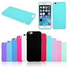 Etui Housse Coque Case Cover en Silicone Rubber pour Apple iPhone 6 4.7 Plus 5.5
