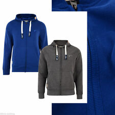NEW TOKYO LAUNDRY MENS BASIC ZIP UP HOODIE HOODED SWEATSHIRT PLAIN TOP