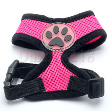 Pet Control Harness for Small Dog & Cat Soft Mesh Dog Harness Safety Strap Vest