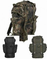 German army style LARGE 65 Litre rucksack in 3  colours / camo patterns