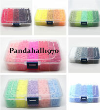 1900pcs/ box Perler Fun Fusion Hama Fuse Beads Refills Solid Color Kid Kit Craft