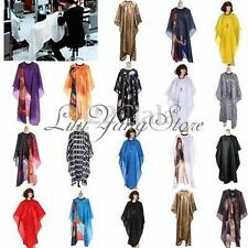 Unisex Salon Barbers Cutting Hair Cape Cloth Cover Gown Hairdressing Hairdresser