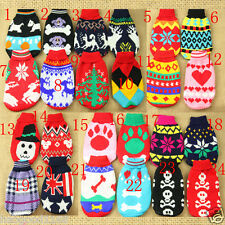 Pet Dog Cat Puppy Clothes Knitted Dog Jumper Pet Sweater XS S M L XL CHEAP 2014